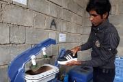تولید کفش ایرانی در محروم ترین روستای هرمزگان