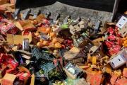 امحای ۱۰۱ تن میوه قاچاق