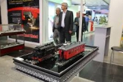پنجمین نمایشگاه بین المللی حمل ونقل ریلی آغاز به کار کرد