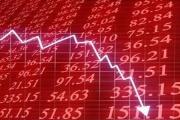 ریزش بازار بورس